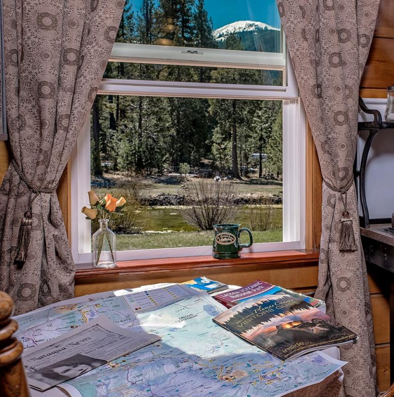 St. Bernard Lodge Near Lassen Volcanic Park