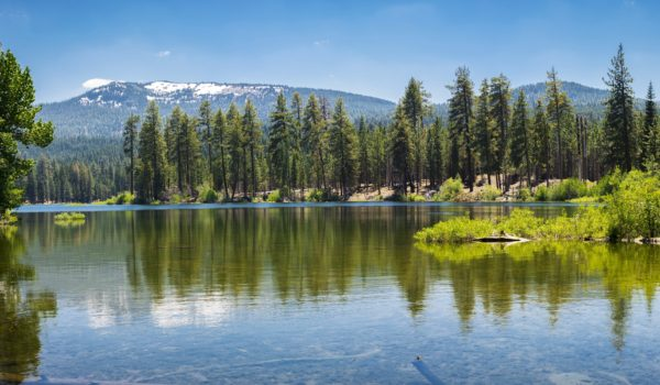 Lake at Lassen National Park
